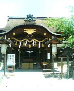 写真 藤森神社の本殿