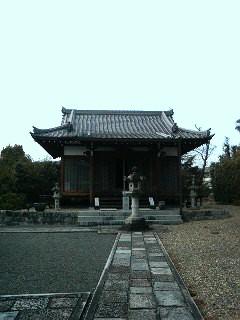 遍昭寺の本堂
