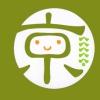 「京」の文字に舞妓さんのかんざしが付いている、京ごよみ手帳のマスコットのイラスト